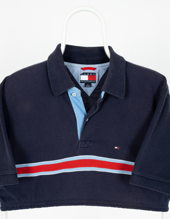 Polo Vintage Reworked Tommy Hilfiger Azul