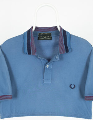 Polo Vintage Reworked Fred Perry Azul